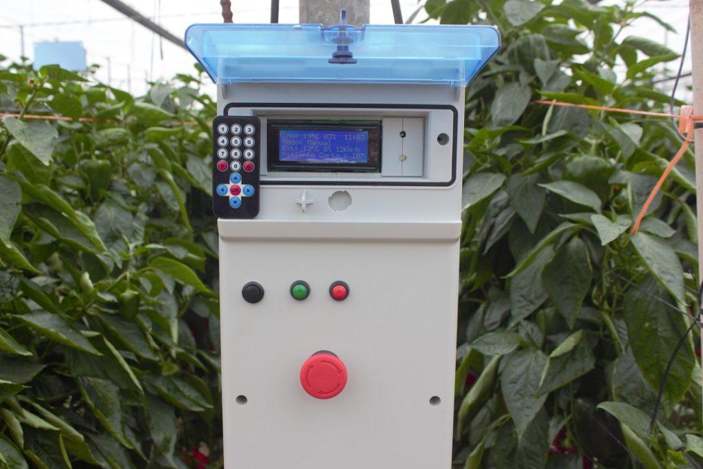 control climático smartinver en invernadero